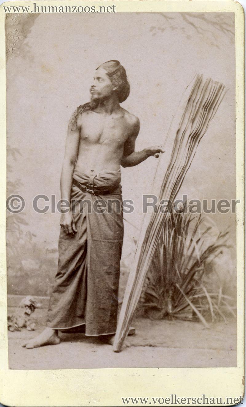 1885 Die Singhalesen der Hagenbeck'schen Ceylon-Expedition 2