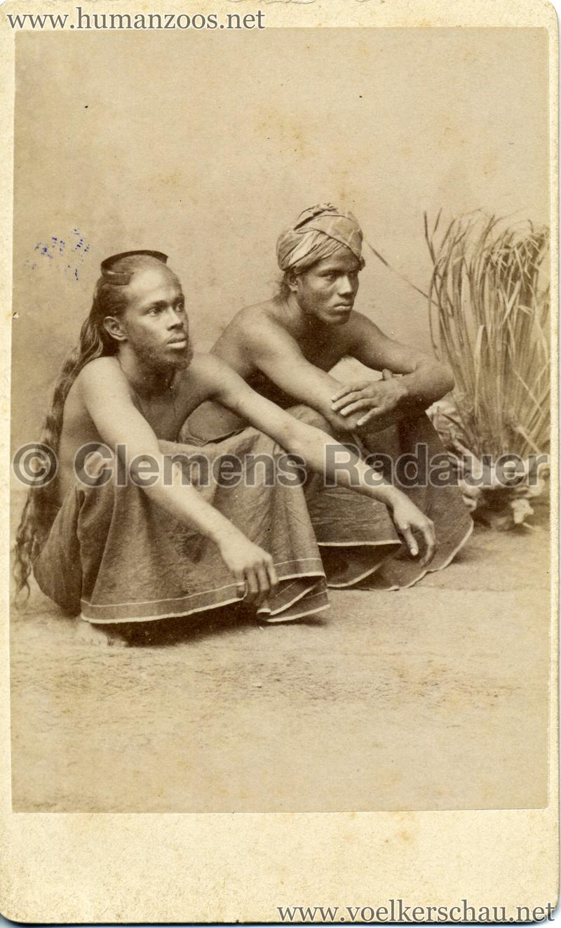 1885 Die Singhalesen der Hagenbeck'schen Ceylon-Expedition 3