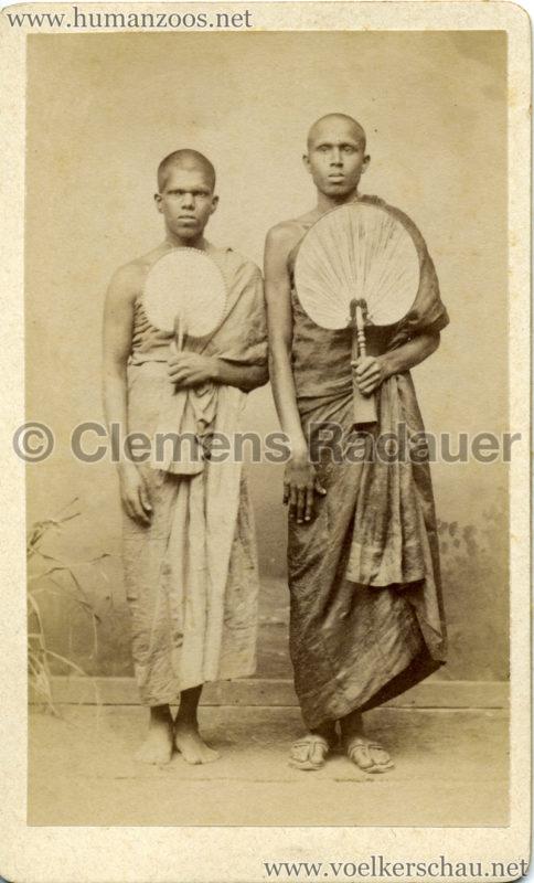 1885 Die Singhalesen der Hagenbeck'schen Ceylon-Expedition 4