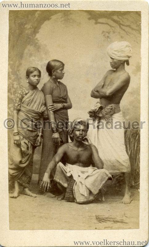 1885 Die Singhalesen der Hagenbeck'schen Ceylon-Expedition 6