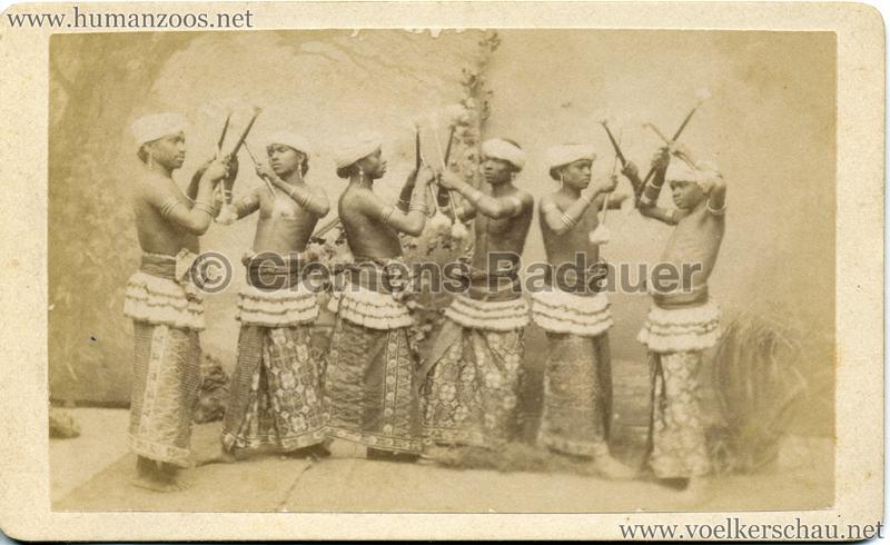 1885 Die Singhalesen der Hagenbeck'schen Ceylon-Expedition 7