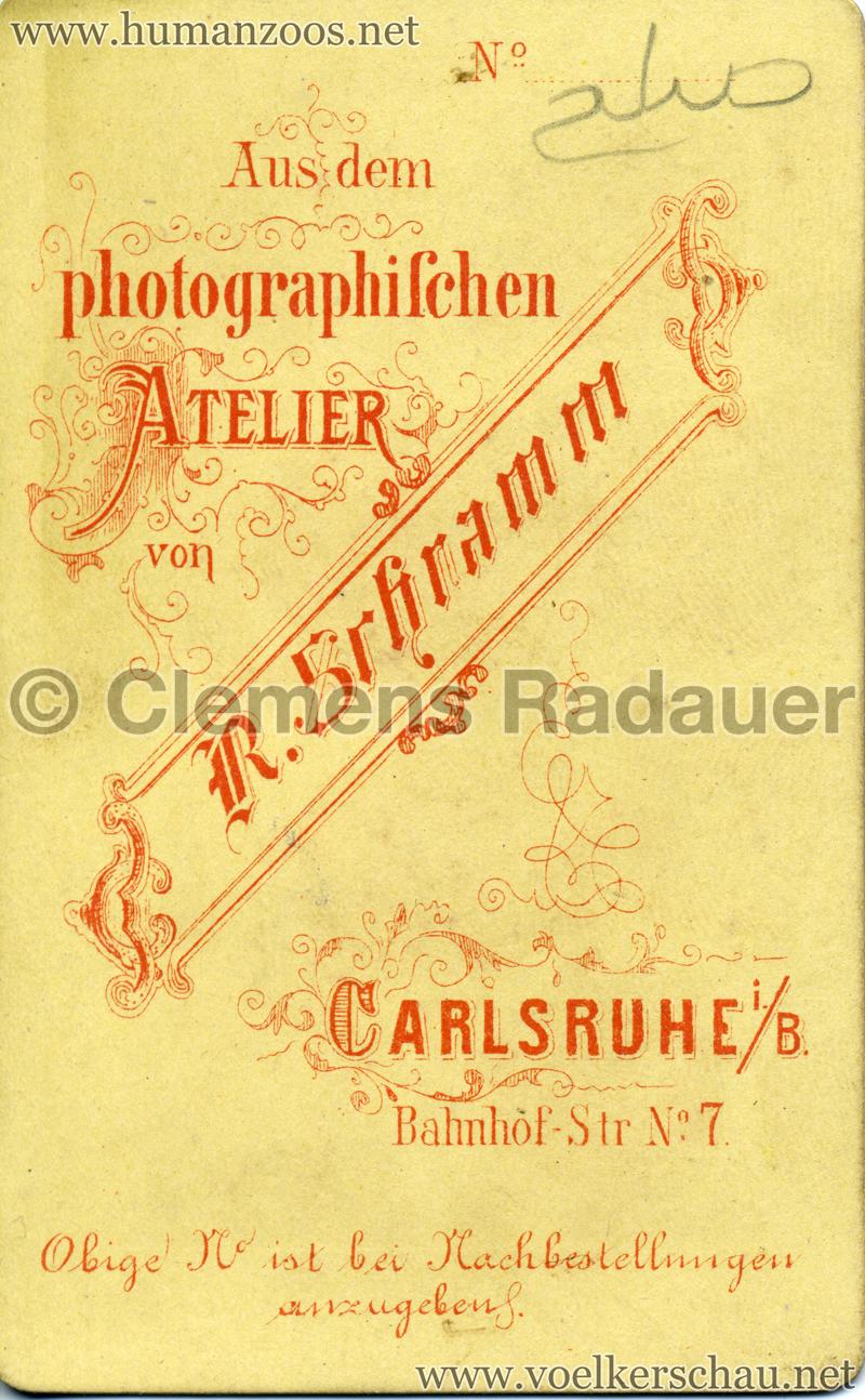 1885 (?) Hagenbeck Nubien:Somali 1 RS