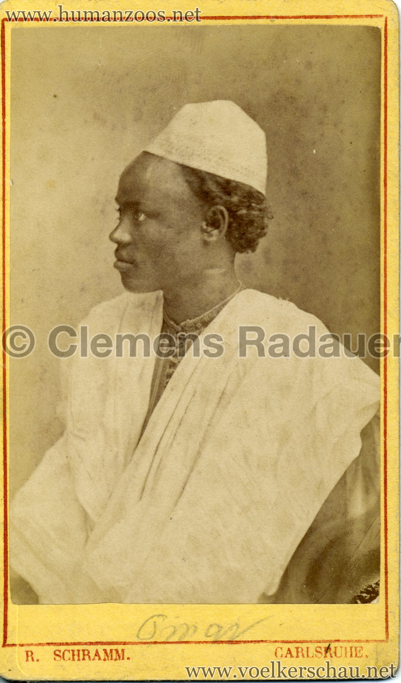 1885 (?) Hagenbeck Nubien:Somali 2