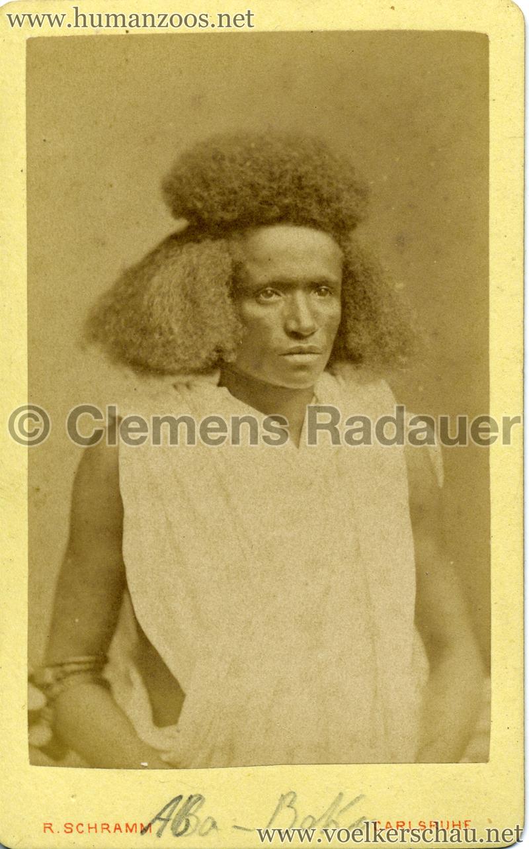 1885 (?) Hagenbeck Nubien:Somali 3