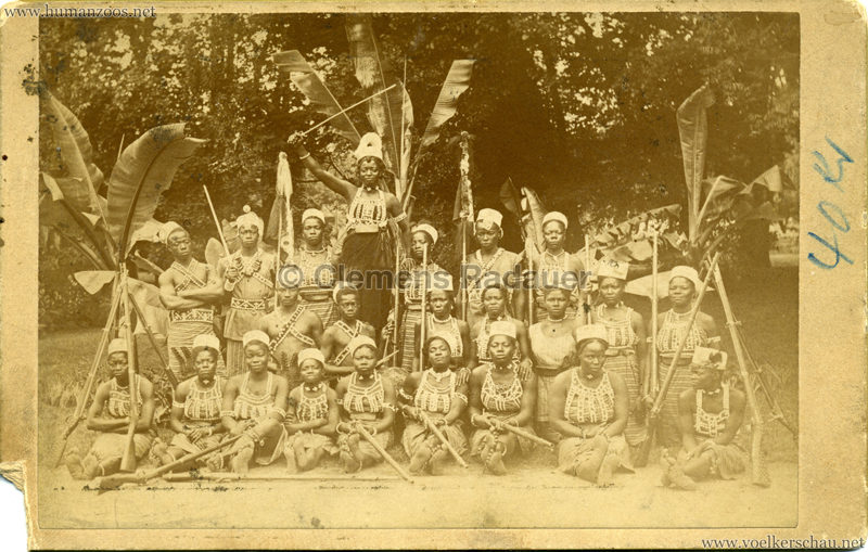 1891:1892:1893 Dahomey Karawane CDV 1