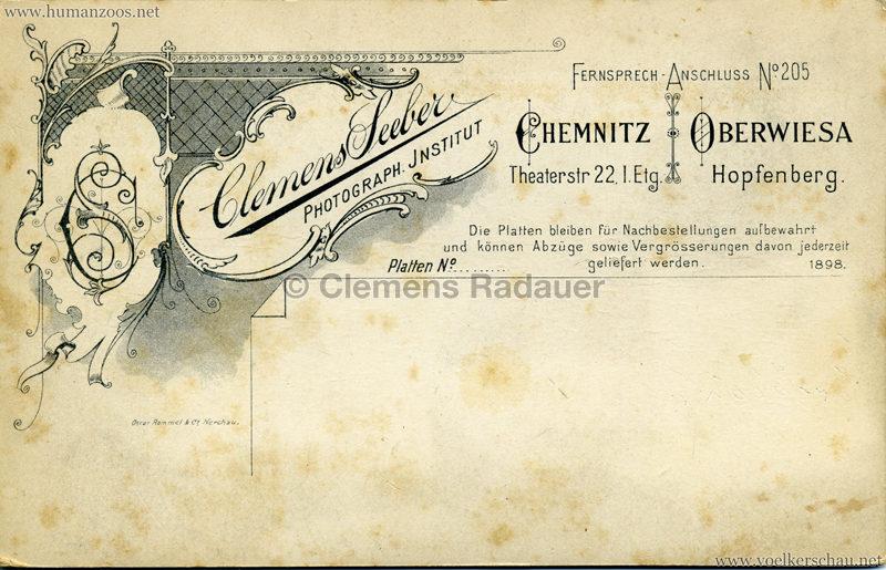 1891:1892:1893 Dahomey Karawane CDV 2 RS