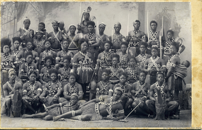 1891:1892:1893 Dahomey Karawane CDV 2 VS