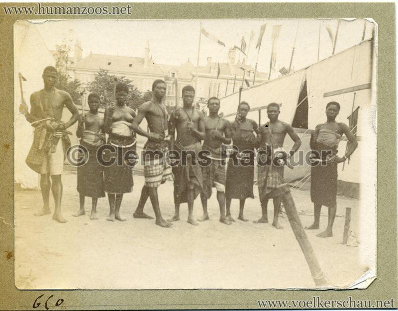 1895 Exposition National Angers - Dahomeens 2