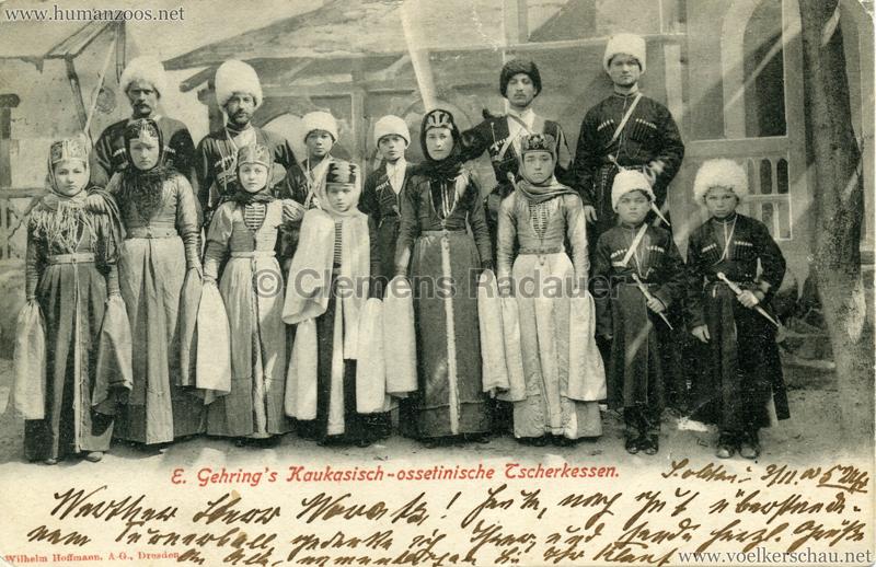 1900 E. Gehring's Kaukasisch-ossetinische Tscherkessen 5