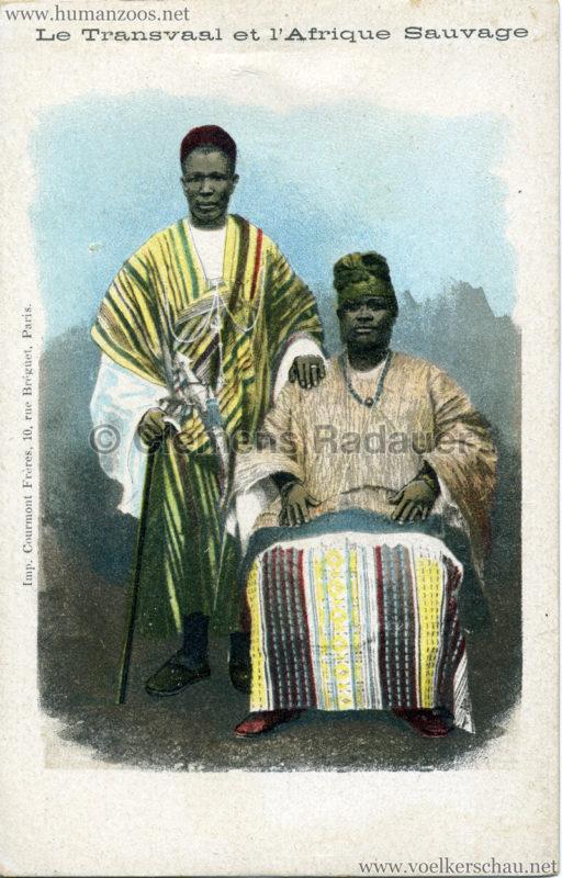 1900 Le Transvaal et l'Afrique Sauvage - 2 Männer