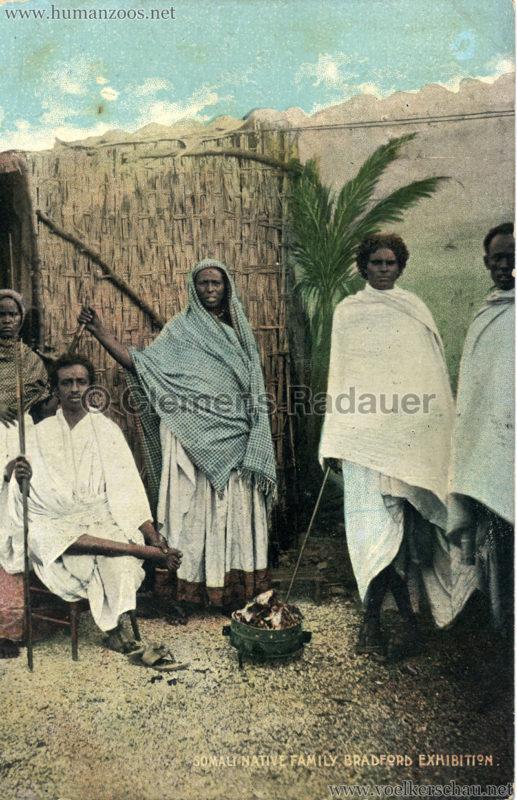1904 Bradford Exhibition - Somali Native Family v