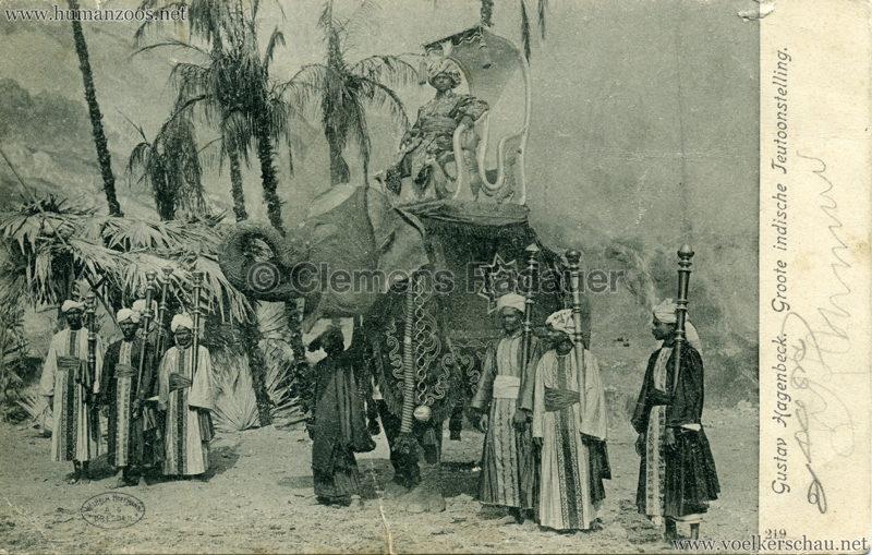 1906 Gustav Hagenbeck. Groote indische Teutoonstelling 219