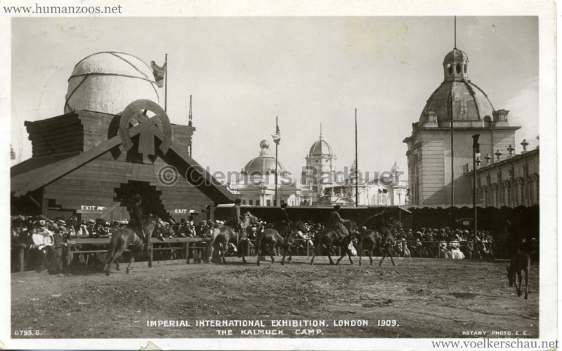 1909 Imperial International Exhibition - The Kalmuck Camp