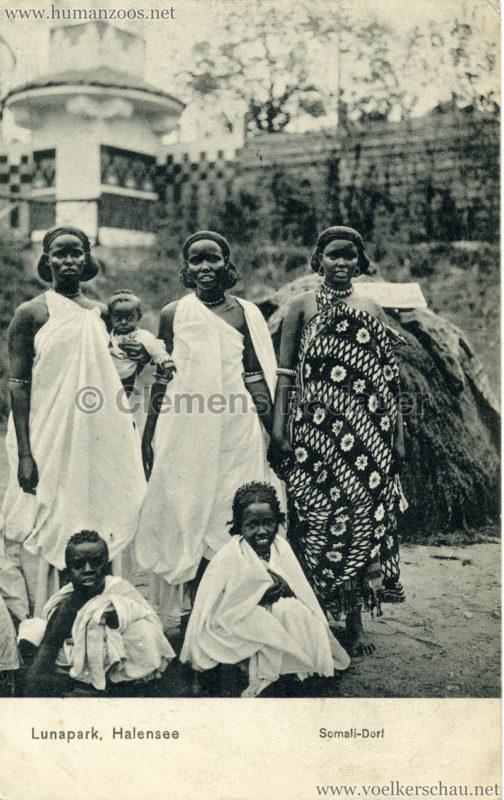 1910:1911 Lunapark Halensee - Somali-Dorf 6