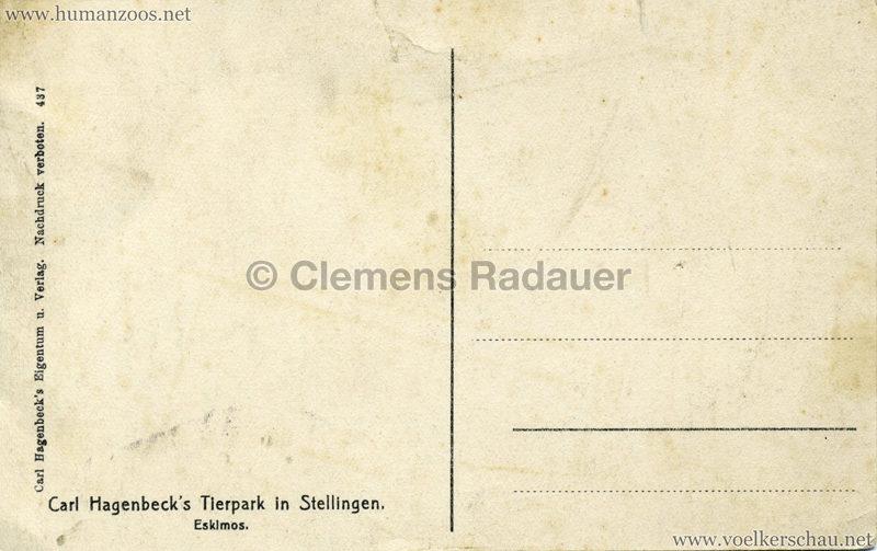 1911:1912 Eskimos Hagenbeck h