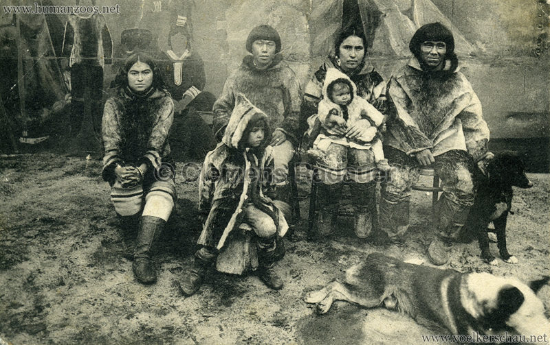 1911:1912 Eskimos Hagenbeck v