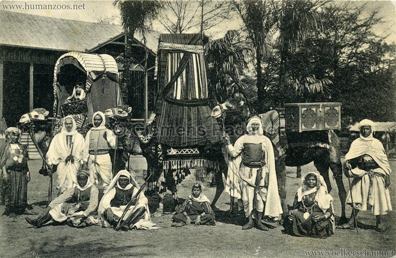 1912 Marquardt's Beduinen-Karawane 8. Gruppe aus dem Hochzeitszuge v