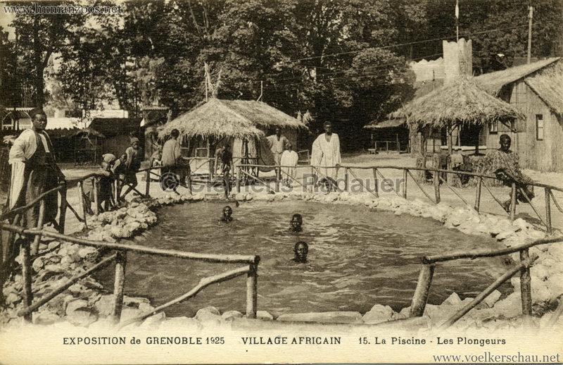 1925 Exposition Internationale Grenoble - Le Village Africain - 15. La Piscine