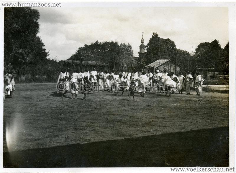 1929 Tierpark Hagenbeck FOTO - Völkerschau