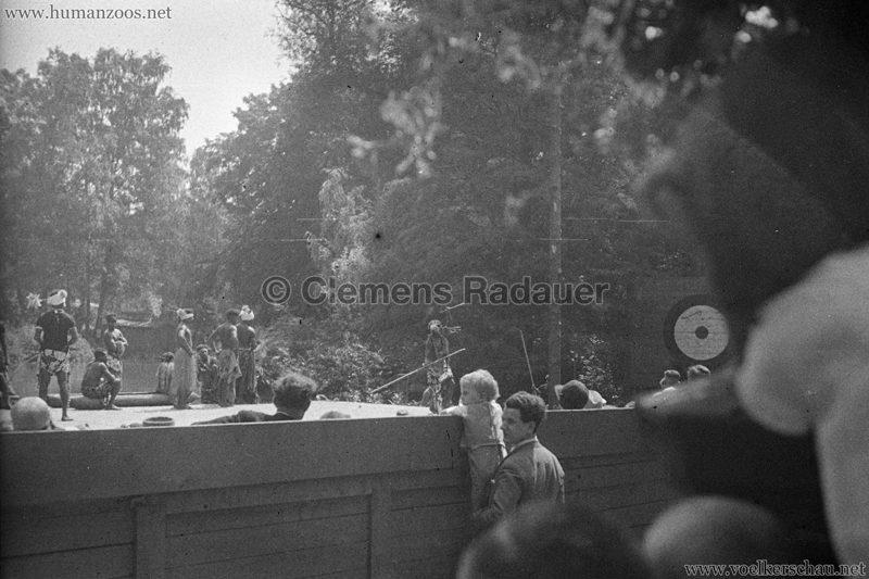1931 Völkerschau Kannibalen Zoo Frankfurt 3
