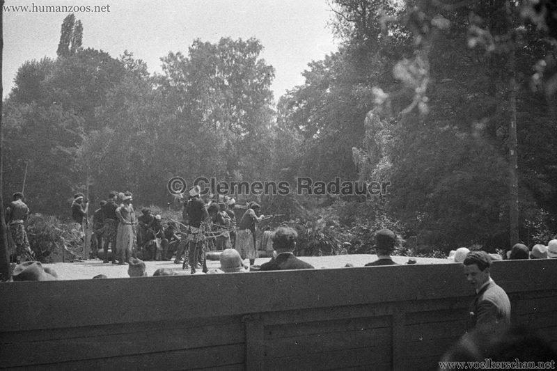 1931 Völkerschau Kannibalen Zoo Frankfurt 4