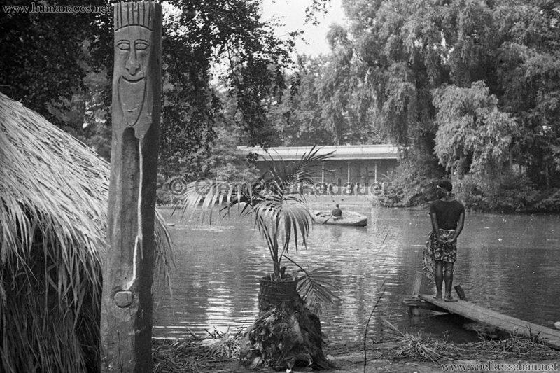 1931 Völkerschau Kannibalen Zoo Frankfurt 5