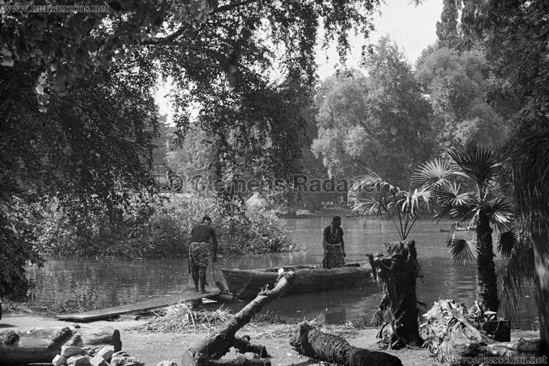 1931 Völkerschau Kannibalen Zoo Frankfurt 7