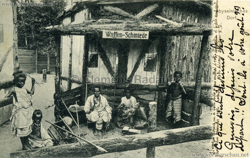 Abyssinisches Dorf