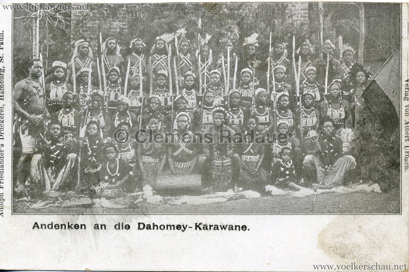 Andenken an die Dahomey-Karawane 1 2