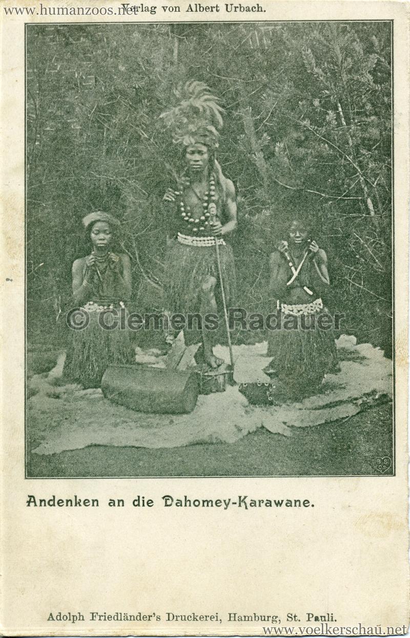 Andenken an die Dahomey-Karawane 4 2 v