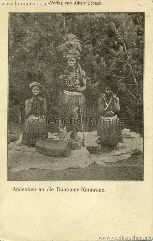 Andenken an die Dahomey-Karawane 4 v