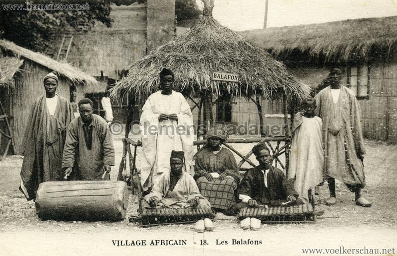 Village Africain - 18. Les Balafons