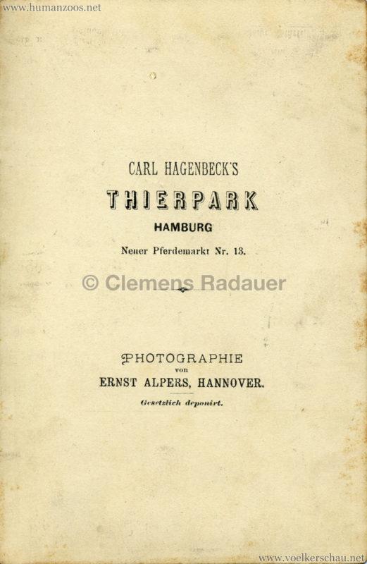 1882 (?) Hagenbeck's Singhalesen RS