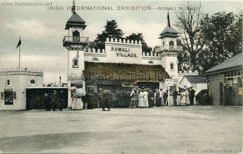 1907 Irish International Exhibition - Somali Village 4
