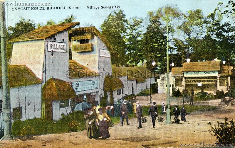 1910 Exposition de Bruxelles - Le Village Sénégalais 5
