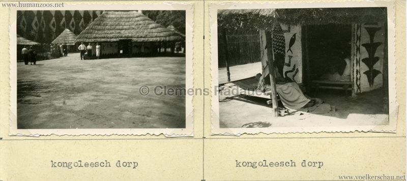 1958 Exposition Universelle Bruxelles - Kongoleesch Dorp