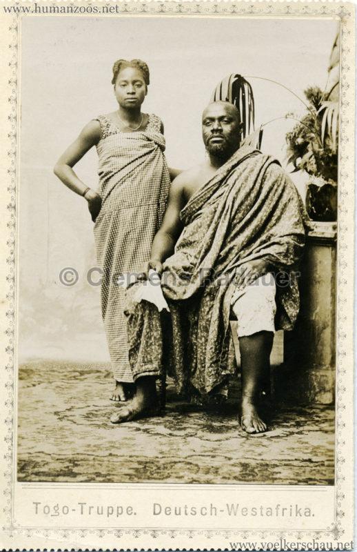 1901 Togo-Truppe. Deutsch-Westafrika 3