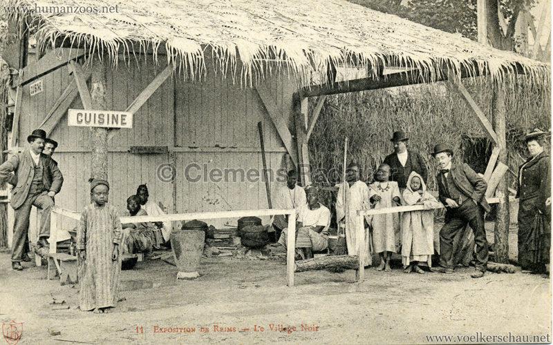 1903 Exposition de Reims - 11. Le Village Noir