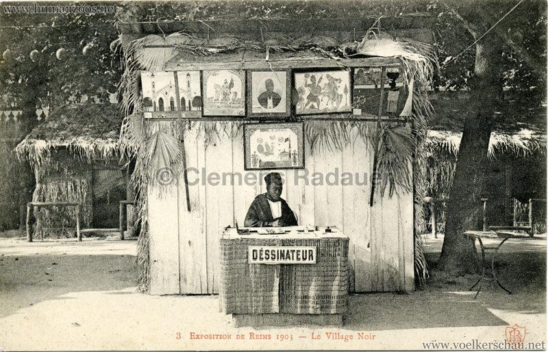 1903 Exposition de Reims - 3. Le Village Noir