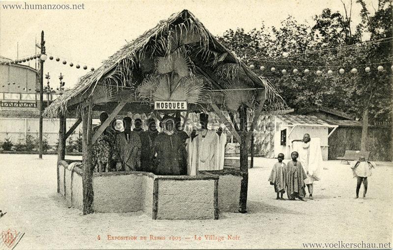 1903 Exposition de Reims - 4. Le Village Noir