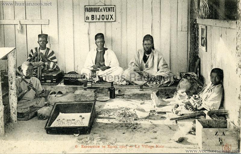 1903 Exposition de Reims - 6. Le Village Noir