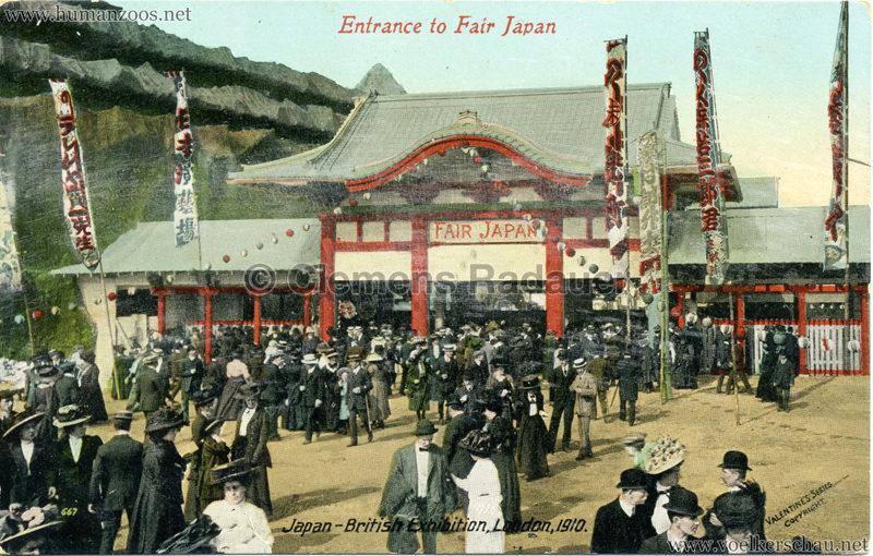1910 Japan-British Exhibition 667. Japan-British Exhibition - Entrance to Fair Japan