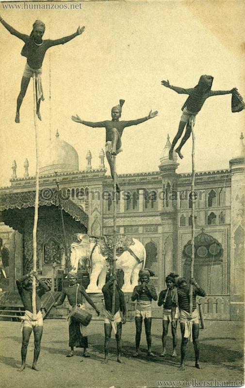 1910:1911:1912 Gustav Hagenbeck's grösste indische Völkerschau der Welt - Stabartisten VS