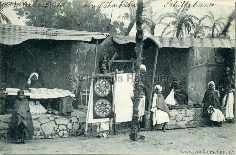 1910:1911:1912 Gustav Hagenbeck's grösste indische Völkerschau der Welt - Verkaufsstände 1 2 VS