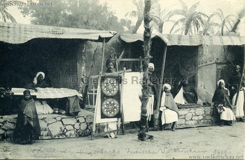 1910:1911:1912 Gustav Hagenbeck's grösste indische Völkerschau der Welt - Verkaufsstände 1 3 VS