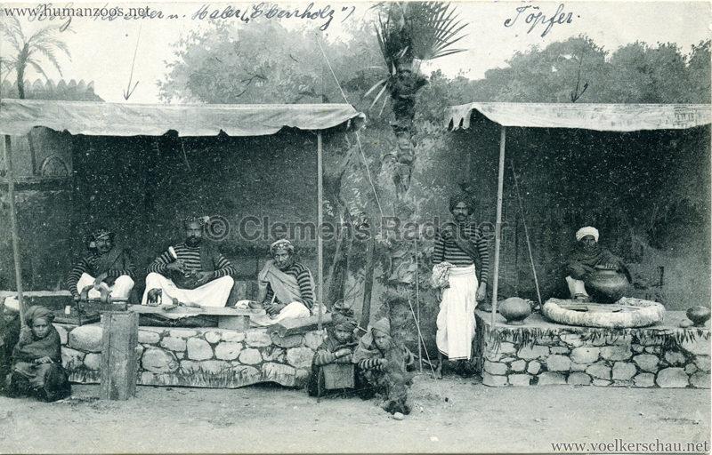 1910:1911:1912 Gustav Hagenbeck's grösste indische Völkerschau der Welt - Verkaufsstände 2 2 VS
