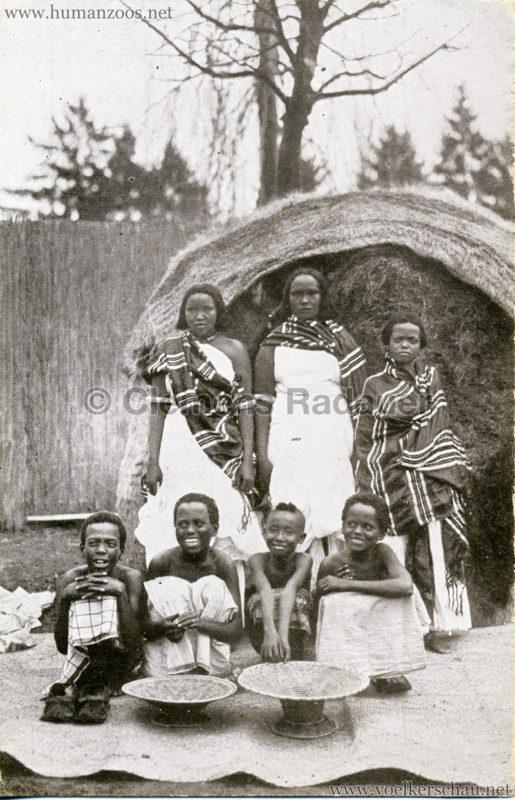 1926 L. Ruhe - John Hagenbeck's Somali-Dorf aus Abessinien - Frauen & Kinder