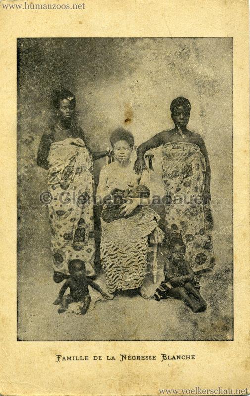 Famille de la Negresse Blanche