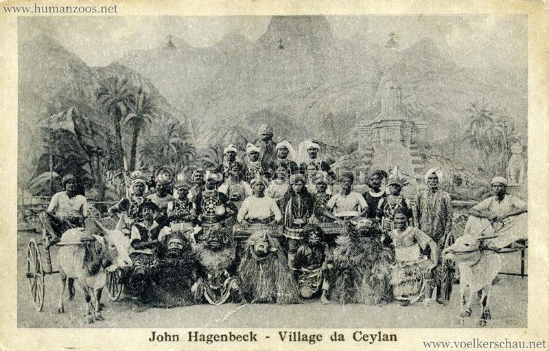 1926 John Hagenbeck - Village da Ceylan 2