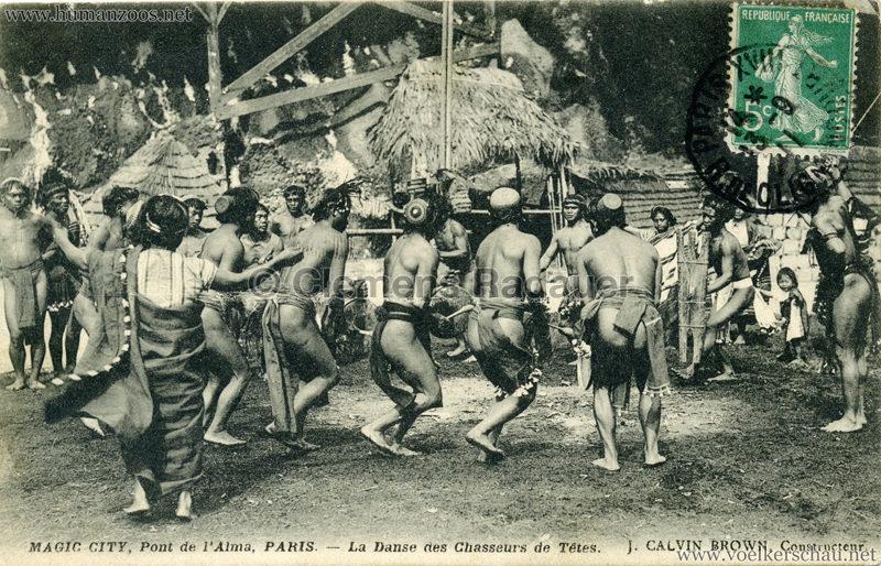 1911 Magic City Paris - La Danse des Chasseurs de Tetes VS